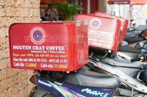 Xe cà phê giao hàng tận nơi