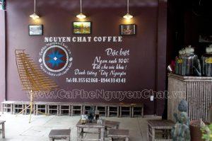 mở quán cà phê nguyên chất