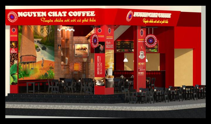 Thiết kế quán cafe hấp dẫn