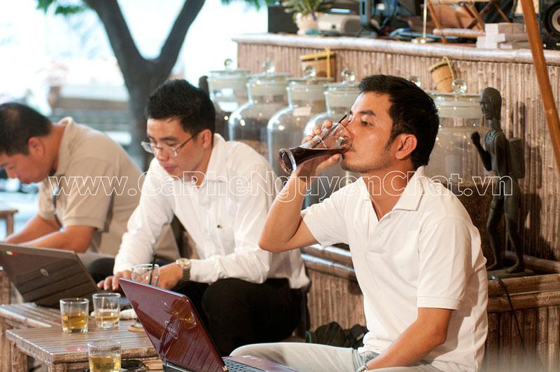 Nhượng quyền cafe sạch được chọn kỹ ngay từ khâu nguyên liệu