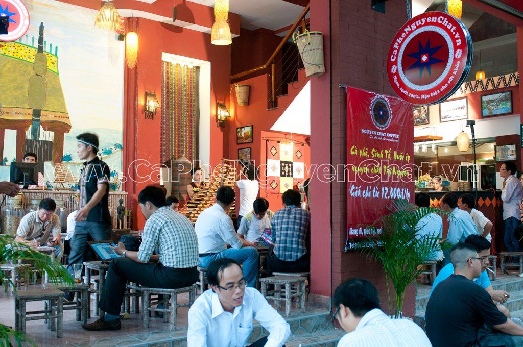 Kinh doanh cafe nhượng quyền Sài Gòn
