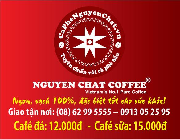 Mở quán cà phê nguyên chất nhượng quyền
