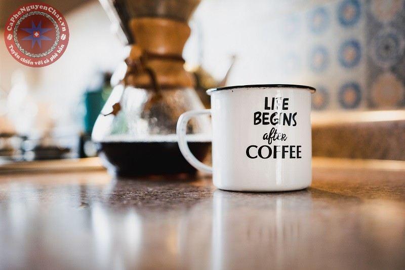 cà phê nguyên chất - cuộc sống
