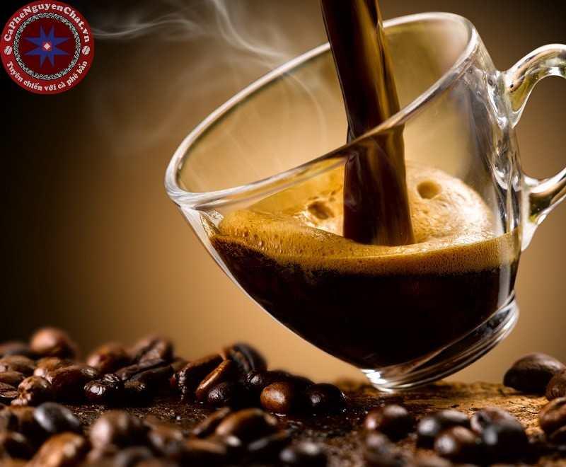 Cà phê rang có mùi đặc trưng.