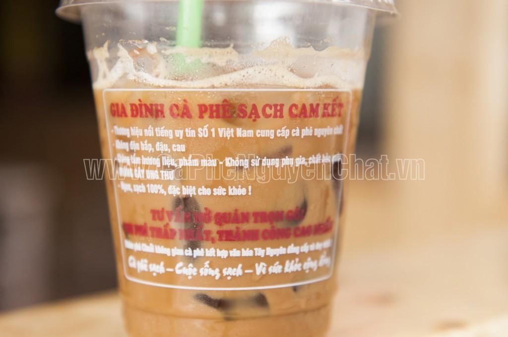 Ly cà phê nguyên chất giao tận miệng