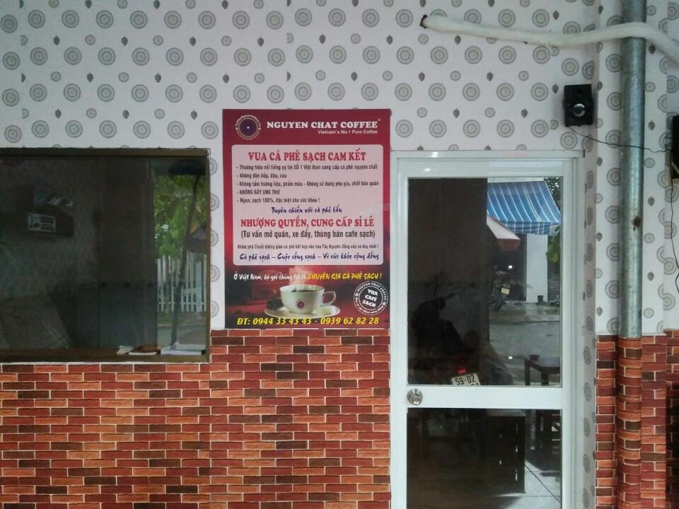 Quán cafe nguyên chất nhượng quyền 66/5 Trịnh Thị Miến, Huyện Hooc môn Tp.HCM 1