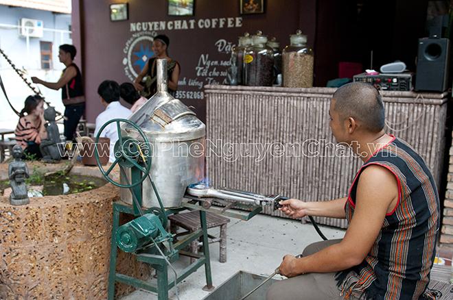 Mở quán cafe nguyên chất Tây Nguyên