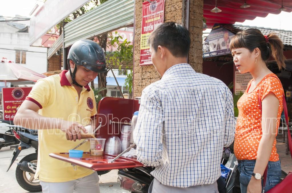 Cafe sạch Sài Gòn phục vụ tận nơi