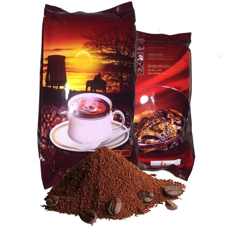 Cà phê rang xaycó chứa chất chống ô xy hoá