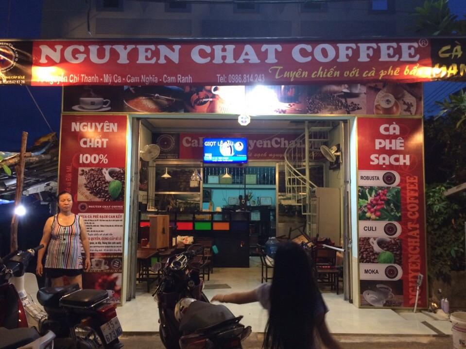Chuỗi quán cafe nguyên chất nhượng quyền Nguyen Chat Coffee