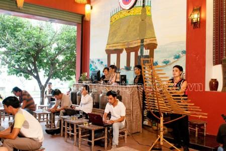 Mở quán cafe phong cách Tây Nguyên