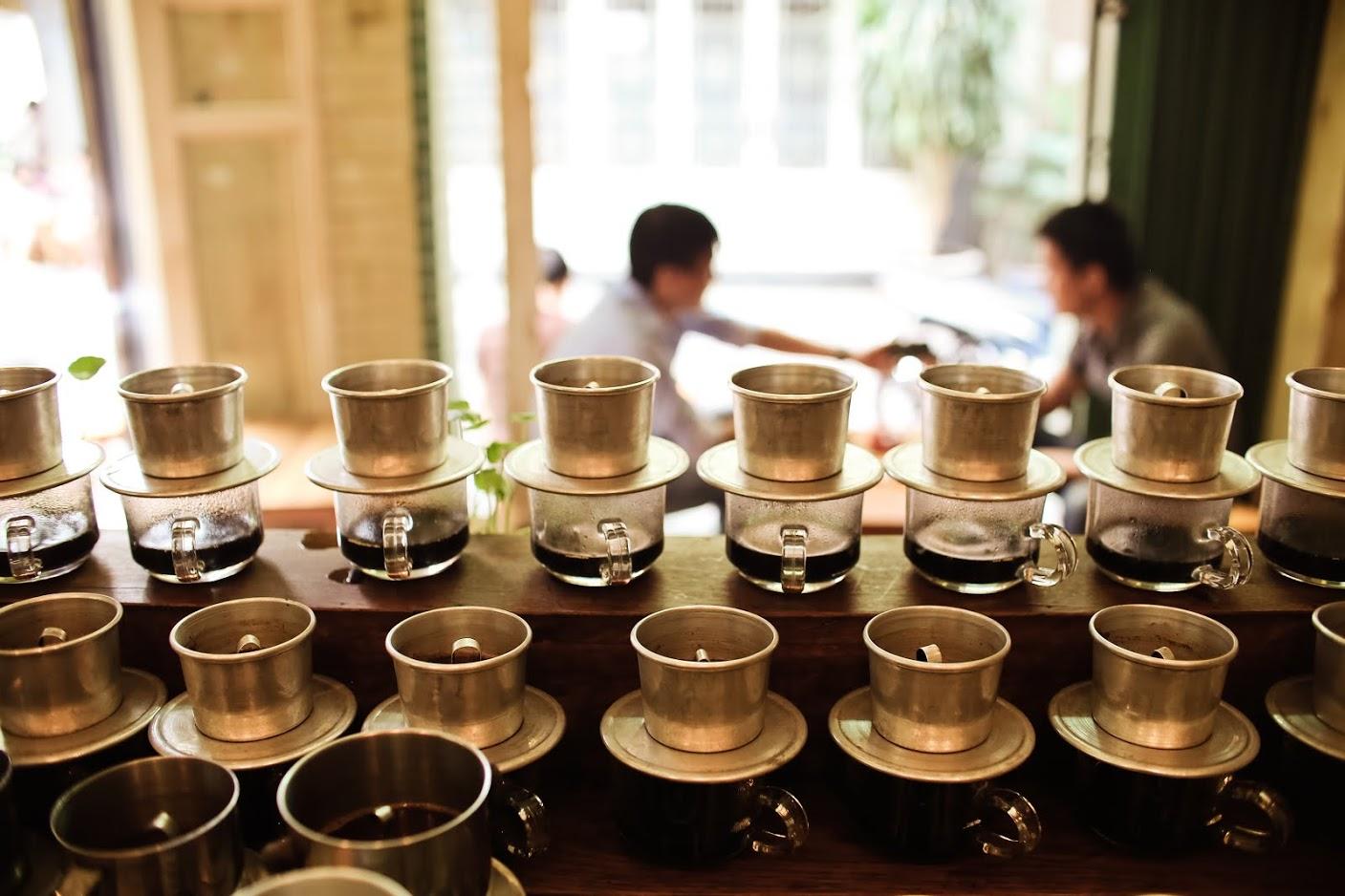 Dùng phin nhôm cho quán cafe của bạn