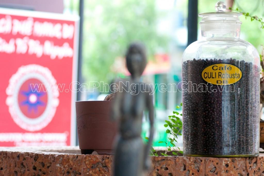 Hạt cafe nguyên chất Culi