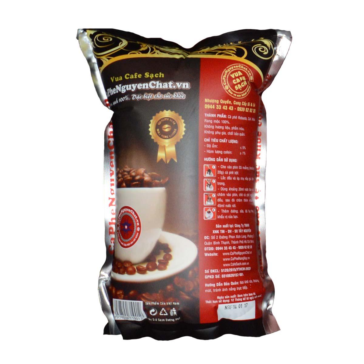 Bao bì cà phê nguyên chất 3 in 1