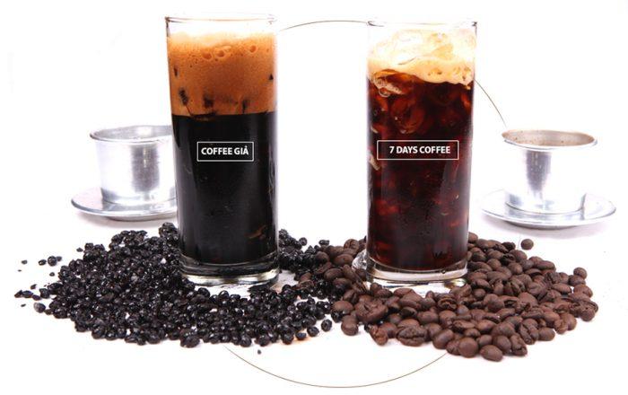 nhận biết cà phê sạch với cà phê bẩn