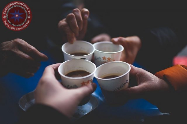 cà phê nguyên chất - người bạn