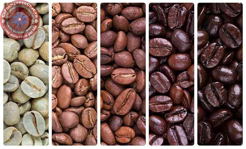 cafe nguyên chất quá trình rang
