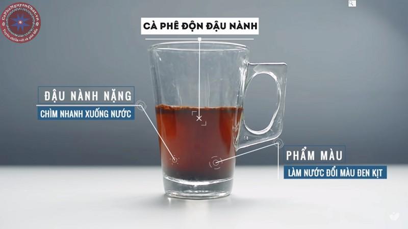 phân biệt cafe sạch sài gòn và cafe bẩn