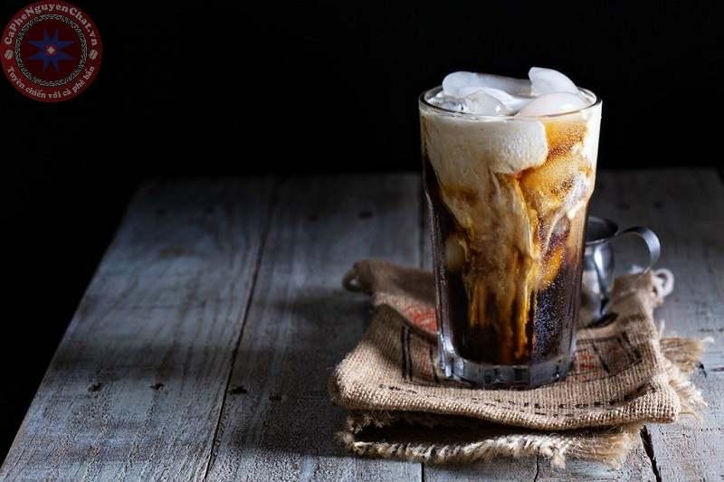 pha chế cafe nên dùng ly thủy tinh