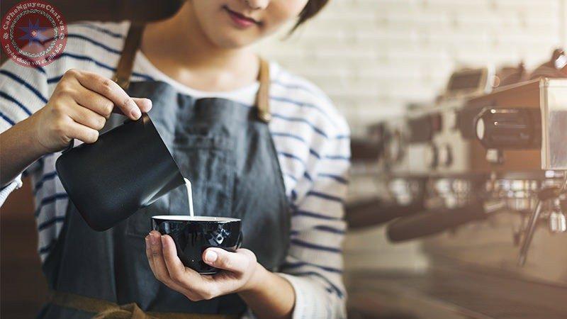 pha chế cafe cần kĩ thuật pha chế tốt