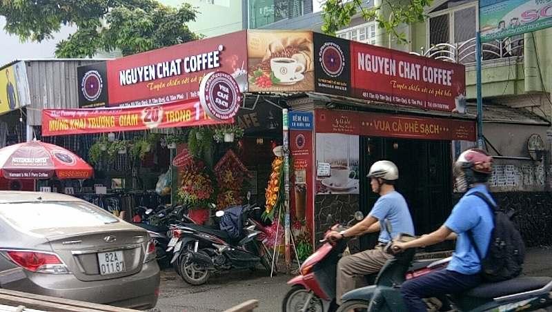 quán cafe sạch - chọn địa điểm tốt