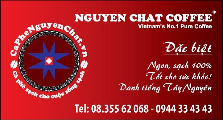 quán cafe sạch cùng Nguyen Chat Coffee