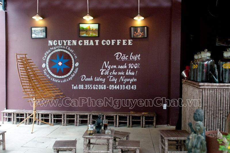 phong cách thiết kế quán cà phê tây nguyên