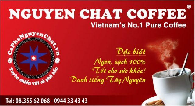 Nguyên Chất Coffee – thương hiệu cafe sạch Sài Gòn uy tín và chất lượng