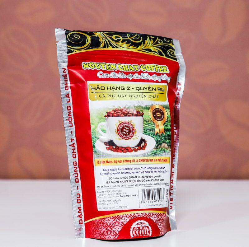 Cà phê nguyên chất Hạt Hảo hạng 2 (Quyến rũ)