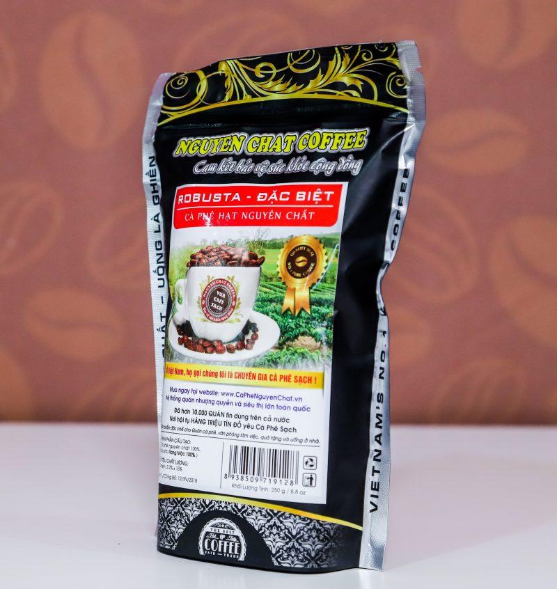 Cà phê nguyên chất Hạt ROBUSTA