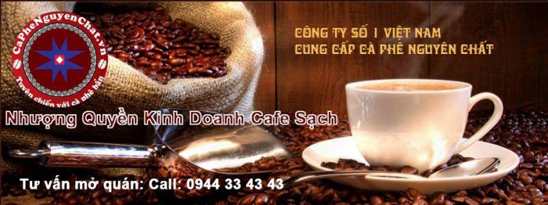 Thị trường kinh doanh cafe Việt đang rất phát triển và nhiều tiềm năng.Nhượng quyền cafe là hình thức kinh doanh khá được thịnh hành ngày nay. Đó là hình thức kinh doanh mà bạn được bán các sản phẩm của một thương hiệu cafe đã được gầy dựng từ trước đó. Cùng tìm hiểu các gói nhượng quyền của Nguyen Chat Coffee.