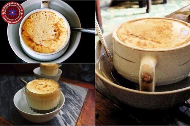 Tìm hiểu các bước để pha chế được 1 cốc cafe trứng hoàn hảo, thơm ngon.