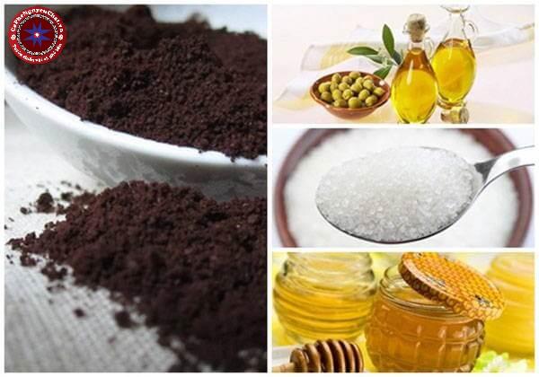 Cách làm trắng da từ cà phê, đường, oliu và mật ong. Đây là một trong những cách làm trắng da từ cà phê cực kỳ tốt.