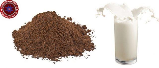 Hướng dẫn cách làm trắng da từ cà phê và sữa tươi từ Nguyên Chất Coffee.