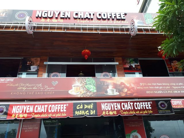 Mở quán nhượng quyền cafe