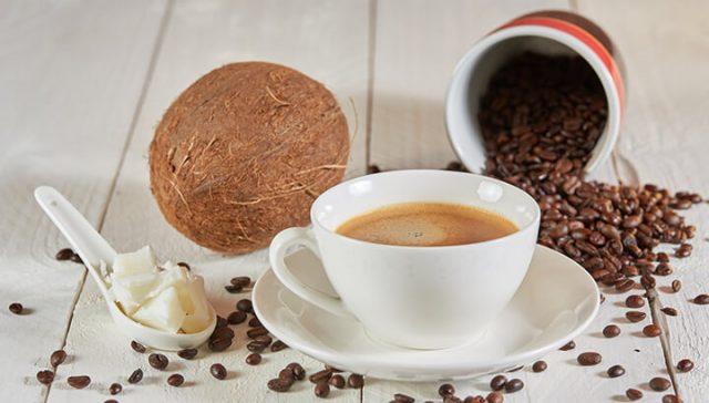 Cà phê dầu dừa