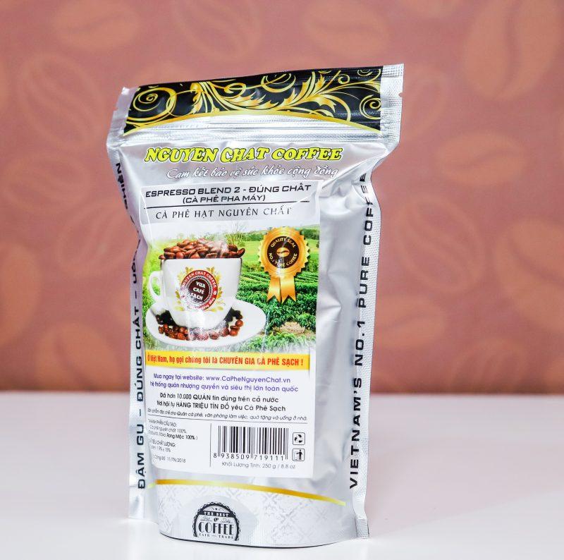 Cà phê hạt nguyên chất ESPRESSO BLEND 2