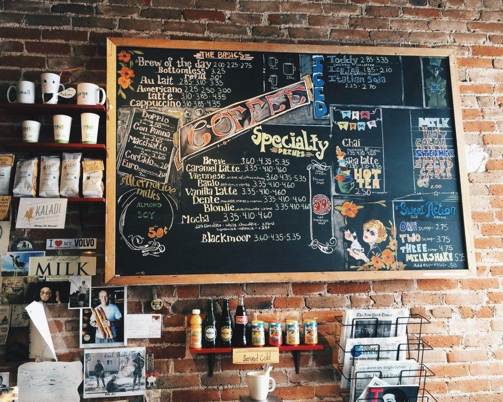 Thiết kếmenu quán café tối ưu giúp kinh doanh hiệu quả