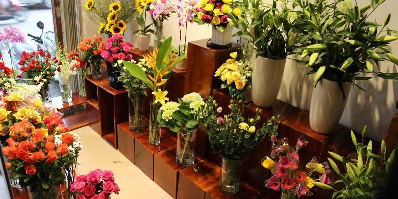 Mở cửa hàng bán hoa tươi là một trong những nghề kiếm bội tiền 2019