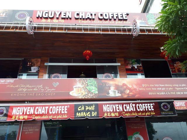 Nhượng quyền xây dựng mở quán cafe
